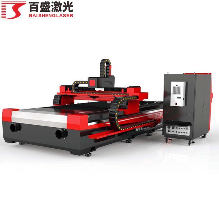 广东佛山百盛激光单平台敞开式双驱激光切割机 3