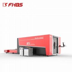 双驱龙门式封闭式F3015HBDE激光切割板材管材一体机