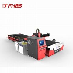 龙门式既能切板又能切管数控激光板管切割一体机百盛直销