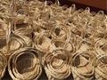 white wicker storage baskets with handle 1