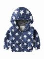 Autumn Allover Print Toddler Little Boy Hooded Jacket 5