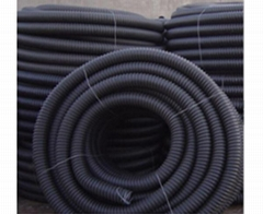 Plastic Extrusion PC Corrugated Pipe
