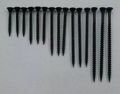 Black Carbon Steel Flat Head Drywall