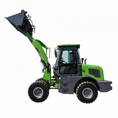 China 1.6T Manufacturer TL16 Mini Wheel Loader With Pallet Forks CE EU