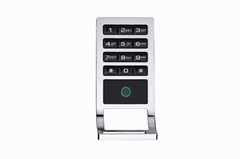Metal Fingerprint Card Cabinet locker With Keypad