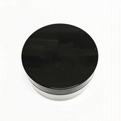 Plastic Cream Jar Cosmetic Contianers