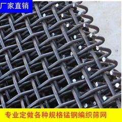 矿山用锰钢轧花网