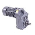 cast iron helical gear reducer