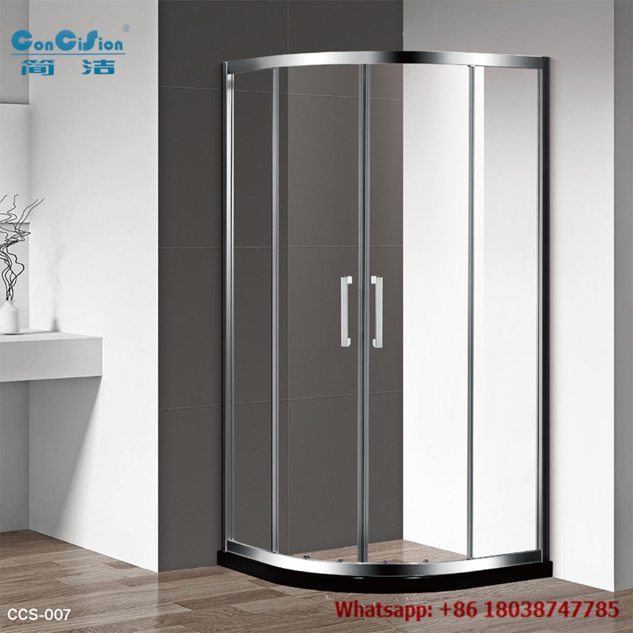 Aluminium hot sell tempered glass shower enclosure shower cabin 1