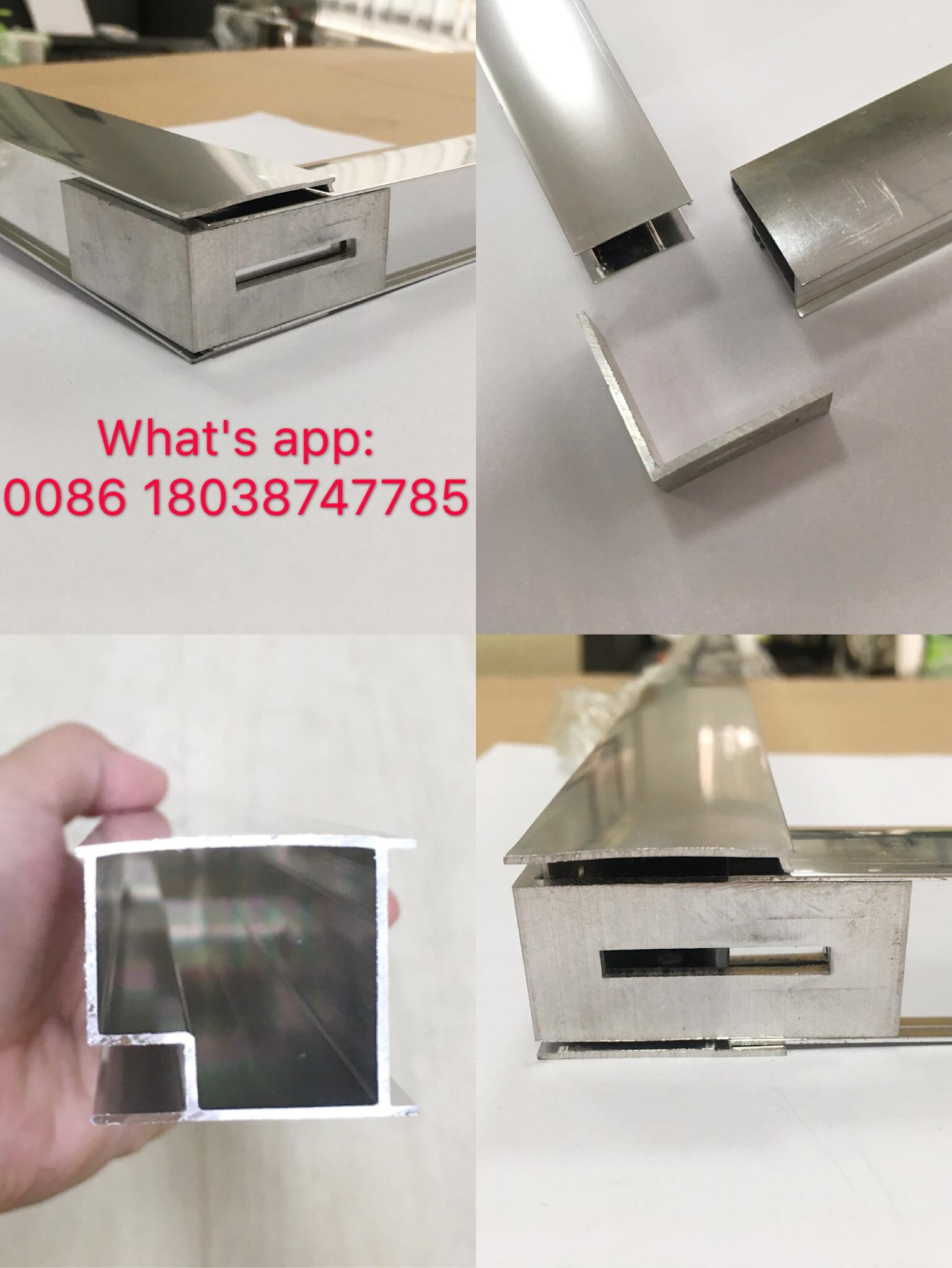 Aluminium hot sell tempered glass shower enclosure shower cabin 5