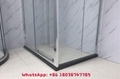 Aluminium shower enclosure shower room with tempered glass 4
