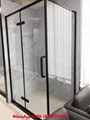 SUS304 shower enclosure shower room black color rectangle shape 2