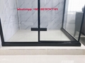SUS304 shower enclosure shower room black color rectangle shape 3