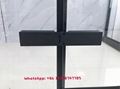 SUS304 shower enclosure shower room black color rectangle shape 5