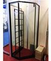 SUS304 shower enclosure shower room black color diamond shape 2