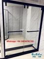 SUS304 Shower door shower screen shower enclosure shower room in black color 5