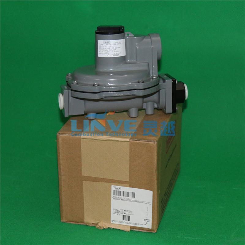美国费希尔Fisher高转低调压器R622-5燃气减压阀 燃烧机调压阀 2