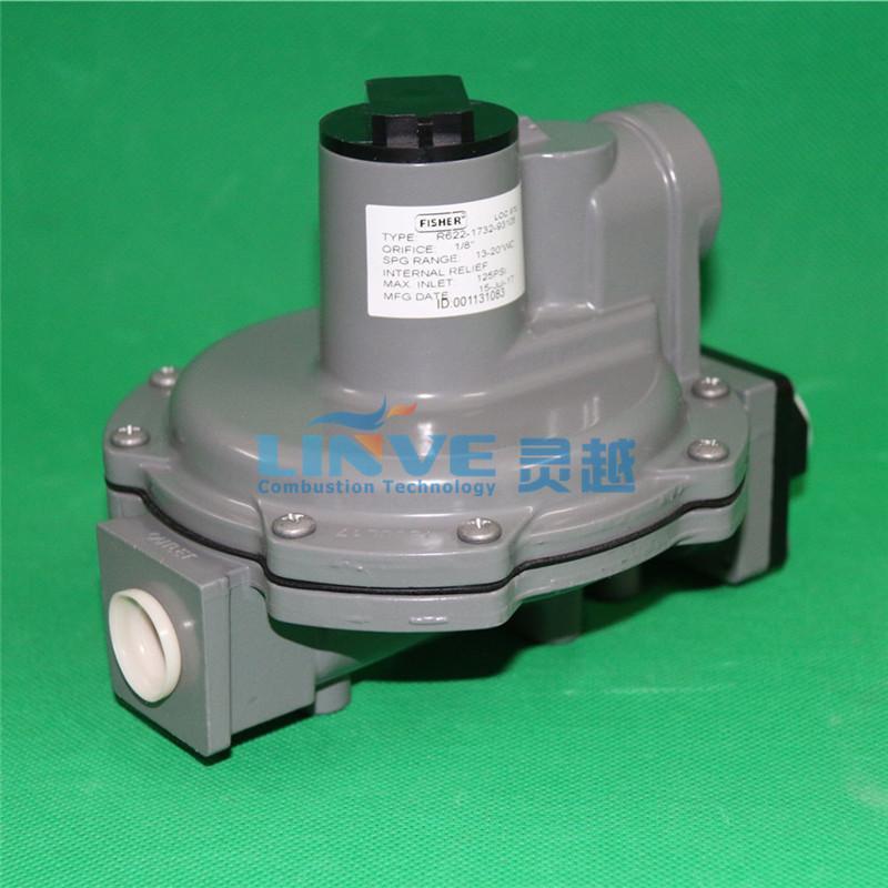 美国费希尔Fisher高转低调压器R622-5燃气减压阀 燃烧机调压阀 3