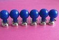 6pcs Nickel-plated Chest Suction Cup