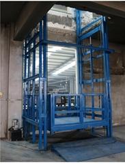 大連液壓式貨梯導軌昇降平台