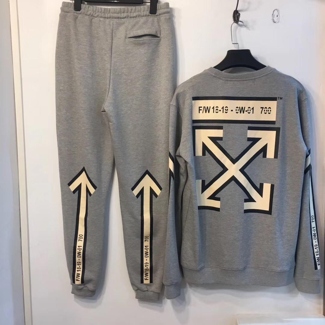 Top quality OFF White Sportswear OFF White tracksuits OFF White Activewear  19