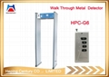 Security gate door frame walk through security gates metal detector 3