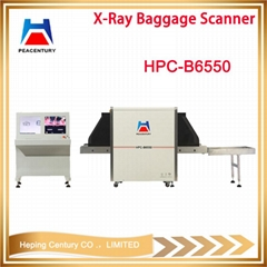 X-ray baggage scanner used x ray equipment in airport hotel jail court HPC-B655