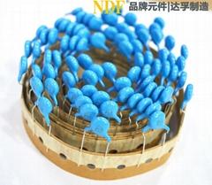 供应陶瓷安规电容器Y1-221k 400V
