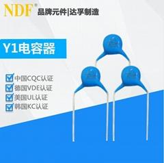 供应电源滤波器安规电容Y1-152m-400vac