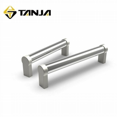 TANJA L14 304不锈钢化工机械把手 耐腐蚀光亮饰面食品机械拉手