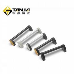 TANJA L22弧形蒸饭柜拉手 铝合金医疗器械把手  重型门把手