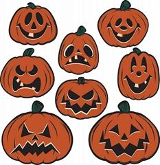 Halloween Horror Pumpkin Sea Thief Spider Decoration Props Mall Board