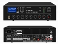 PA System Tabletop Mixer Amplifier With