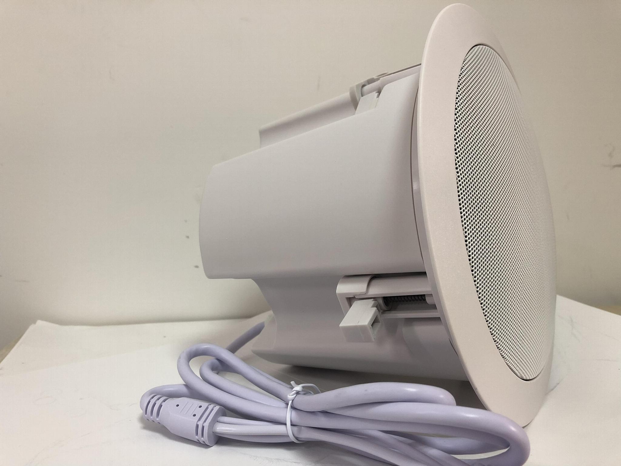 IP PA Network POE Ceiling Speaker 15W 3