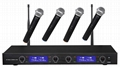 4 Channel UHF Wireless Microphone System