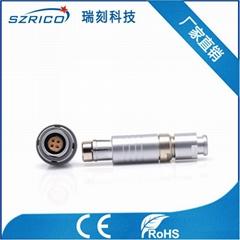 深圳厂家直销快速插拔连接器0F102 4PIN/芯插头插座整套M9接插件