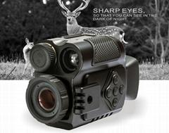 Digital IR Monocular Scouting Video DVR Record Night Vision