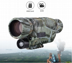 Camouflage Long Range Digital Night Vision Monocular Hunting Scope