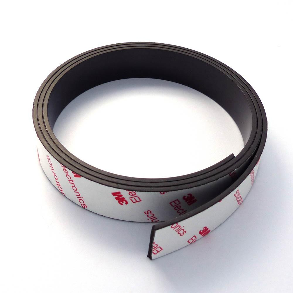Anisotropic magnetic strip with 3M adhesive 1