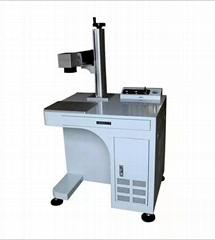 20W一体光纤激光打标机铭牌镭射机金属刻字激光雕刻机