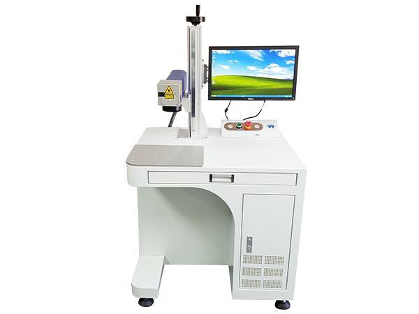 20W一體光纖激光打標機銘牌鐳射機金屬刻字激光雕刻機 3