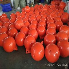 海邊彩色球體警示標誌40cm海洋浮球