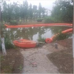 水库水面区域隔离浮体