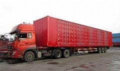 德州物流配貨13米箱式