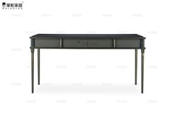 掌櫃家居現代歐式小奢華多功能臥室梳妝臺電書桌