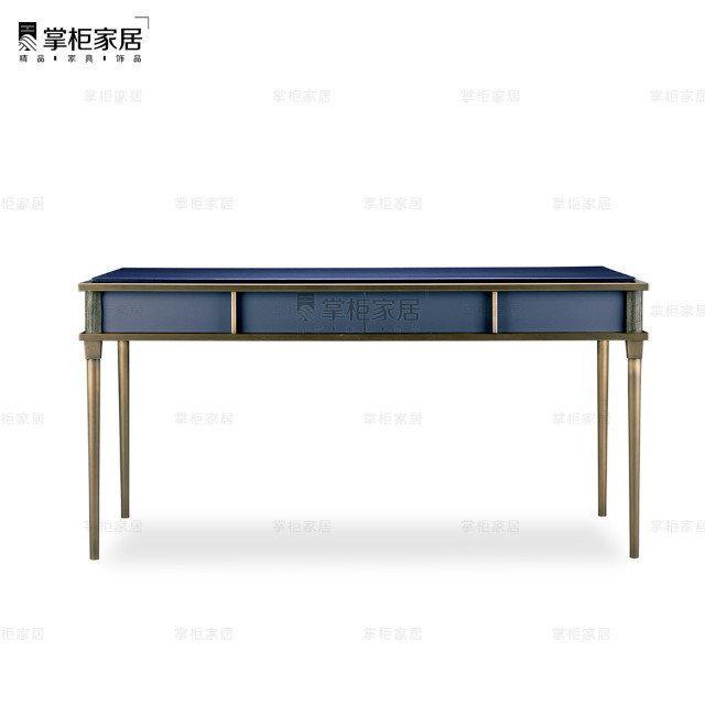 掌柜家居现代欧式小奢华多功能卧室梳妆台电书桌 3
