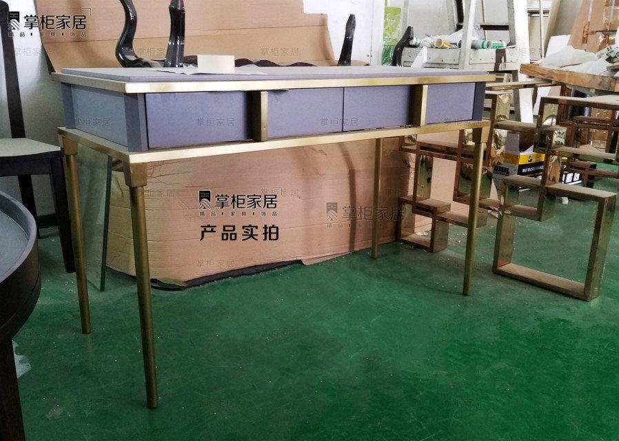 掌柜家居现代欧式小奢华多功能卧室梳妆台电书桌 4