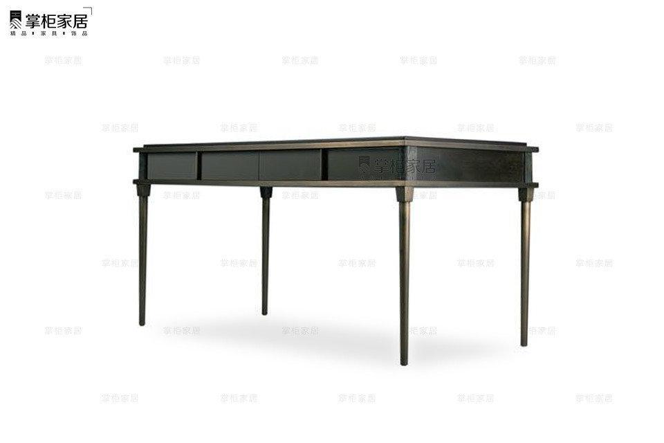 掌柜家居现代欧式小奢华多功能卧室梳妆台电书桌 5