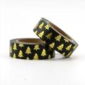 Wholesale custom printed assorted design washi tape decorative school stationery 1