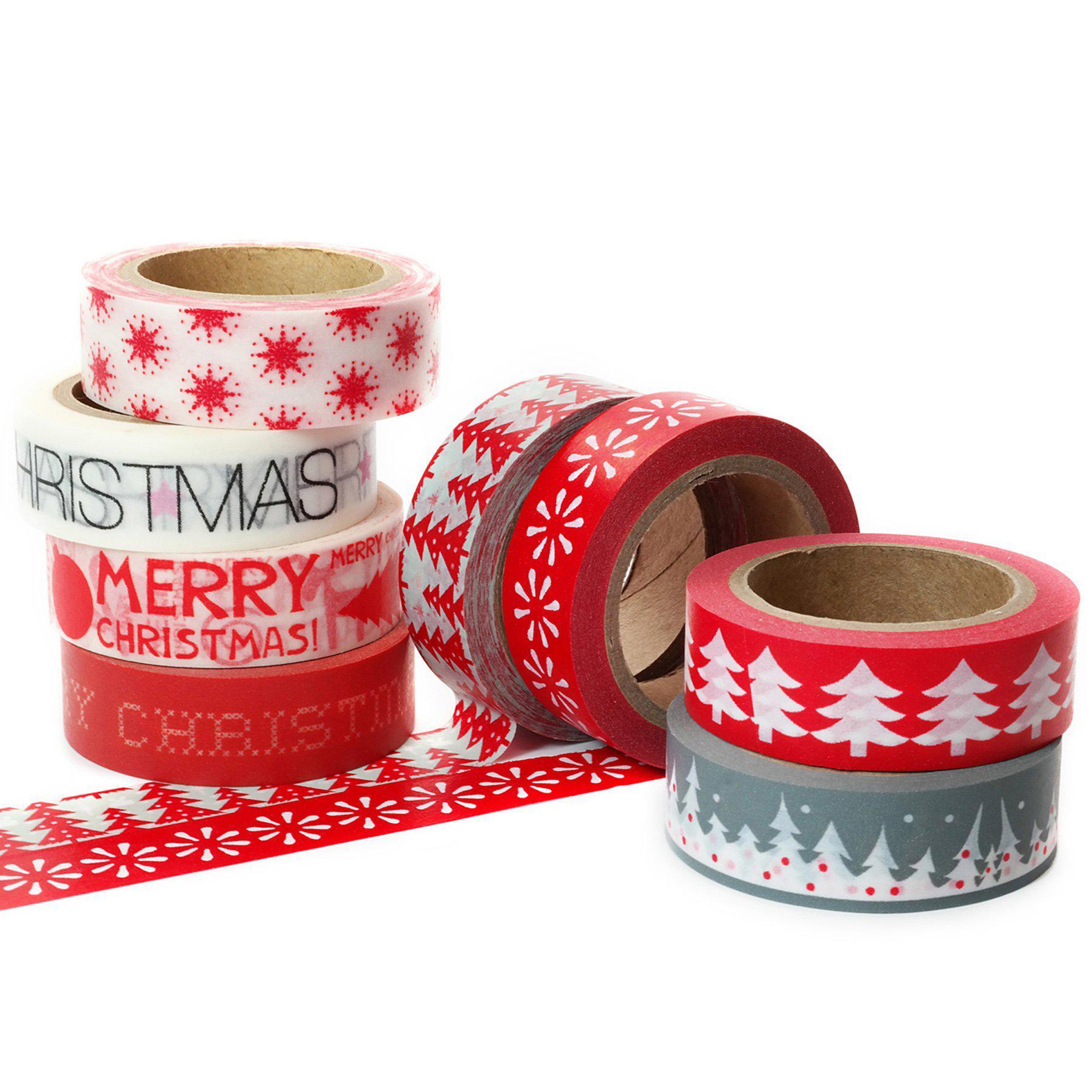 Wholesale custom printed assorted design washi tape decorative school stationery 2